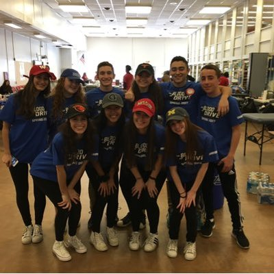 Last years spring blood drive was a success. The Chairpeople hope that this years will be even better.