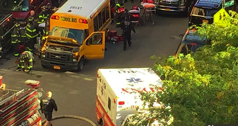 Eight people are killed after a man intentionally drives his truck down a bicycle lane in what is yet another act of terror.