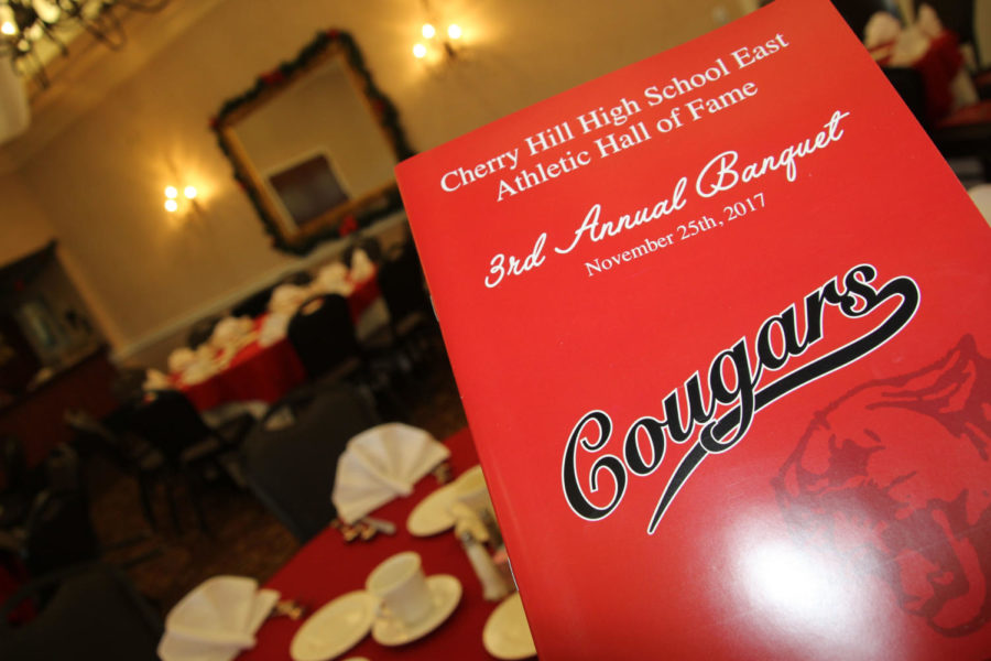 The third annual Cherry Hill East Athletic Hall of Fame induction ceremony was held at the Indian Springs Country Club.