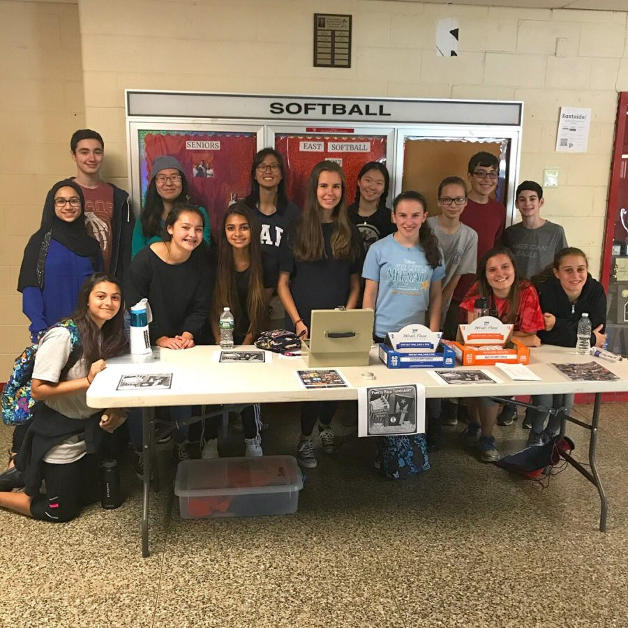 East's Interact Club Promotes Community Service