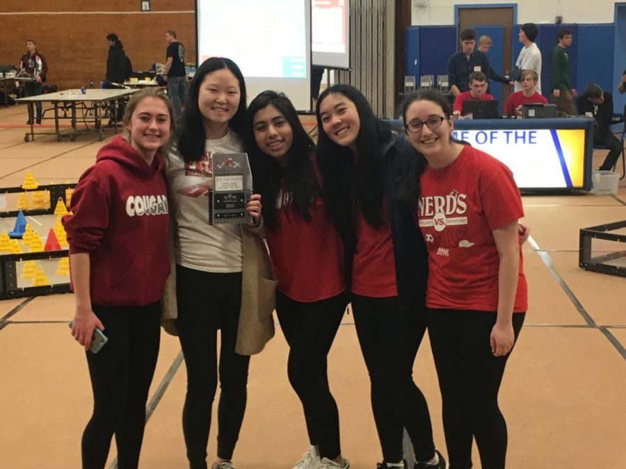 First all-girls East robotics team shoots for the stars