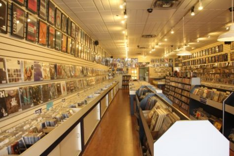 The Tunes music store in Voorhees is home to many forms of music mediums, including vinyl.