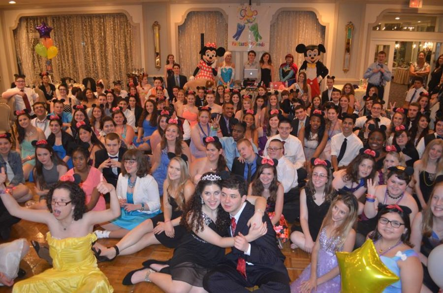 Over one hundred people gather for Fantastic Friend's Disney themed prom.
