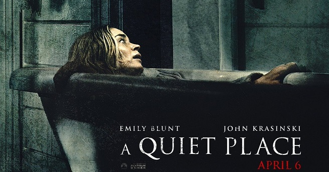 A+Quiet+Place+stars+Emily+Blunt+%28pictured%29+and+John+Krasinski