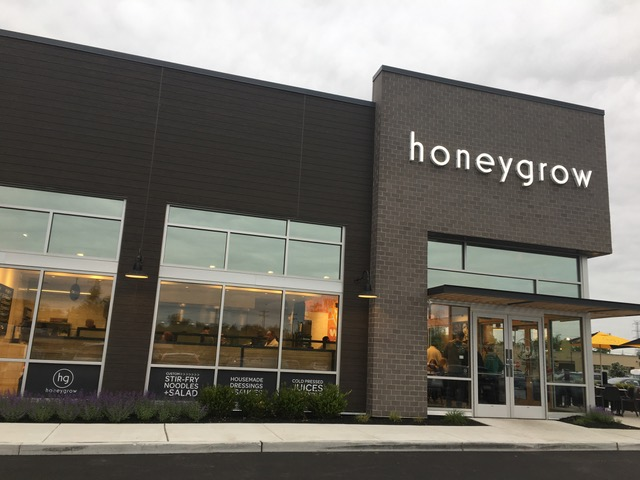 A view of the Honeygrow storefront in Marlton