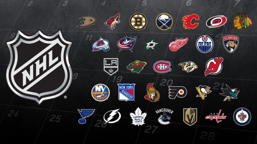 The many NHL hokey teams are not being properly covered.
