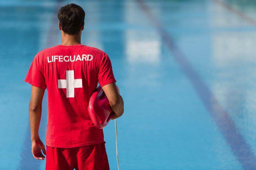 Ben Greenberg ('19) spends his summer working as a lifeguard.