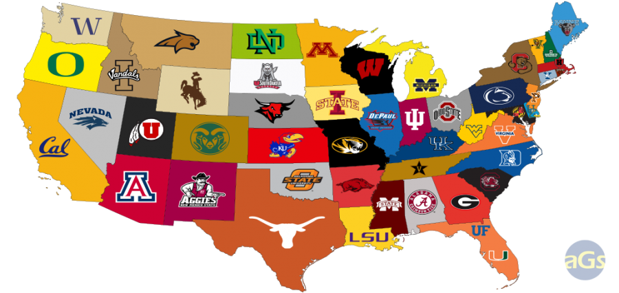 Where to go to explore the sports history of colleges across the nation