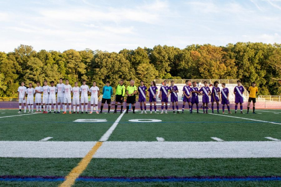 East takes on cross-town rivals West in Soccer