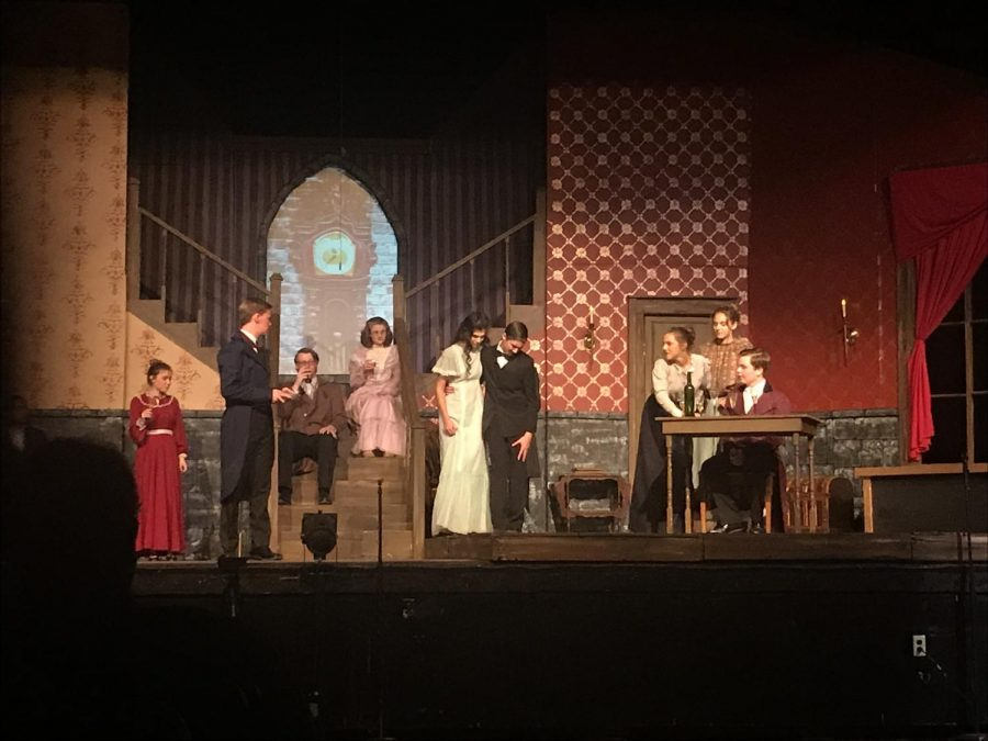 Easts student actors perform in the theatrical adaptation of Poes most-famous works.