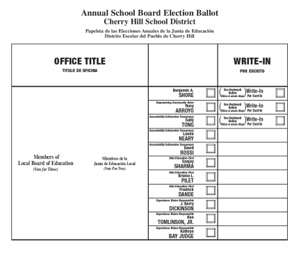 The election, which took place November 6, saw the three winning candidates: Sally Tong, David Rossi and Laurie Neary, run on a group ticket.