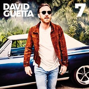 David Guettas cover for his new album, 7.
