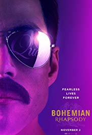 Bohemian Rhapsody is a film centered around the band Queen and their lead singer, Freddie Mercury.
