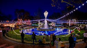 The Franklin Square Light Show is a great place to visit during the holiday season.