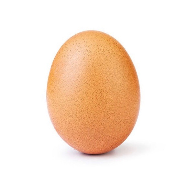 This egg broke Kylie Jenner's record for the most liked picture on Instagram.