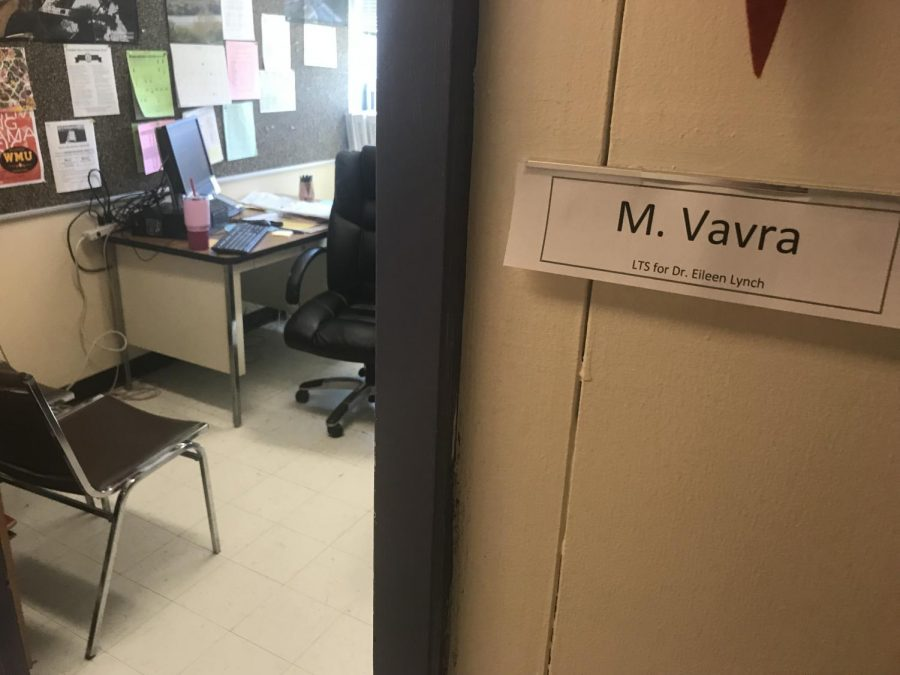 Dr. Lynch's former office is observed the day after her retirement.