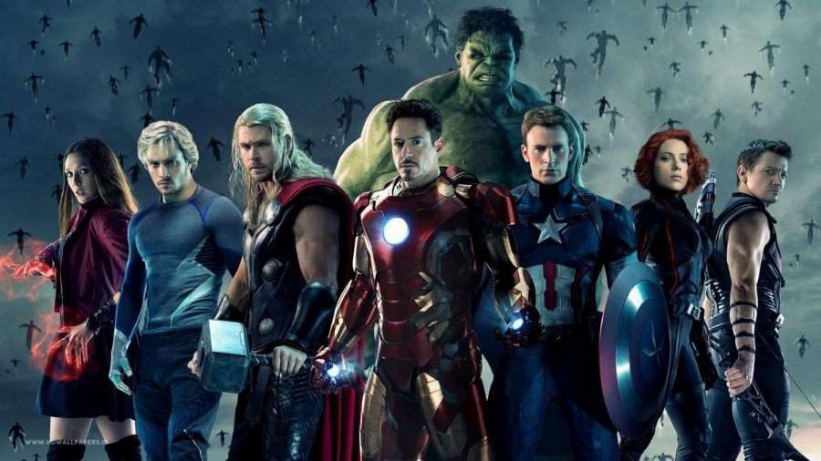 The Avengers assemble to defeat Ultron's army.