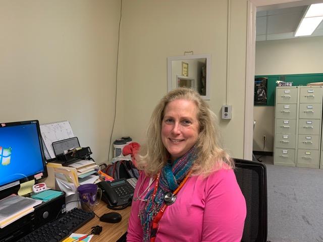 Mrs.+Sheehan+embarks+upon+her+career+as+a+school+nurse+at+East.