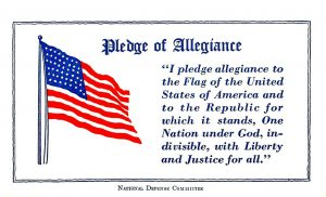 All mention of religion must be removed from the pledge of allegiance