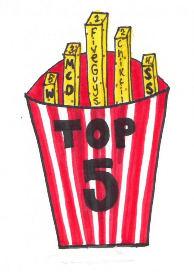 Eastside debates which restaurant has the best fries.