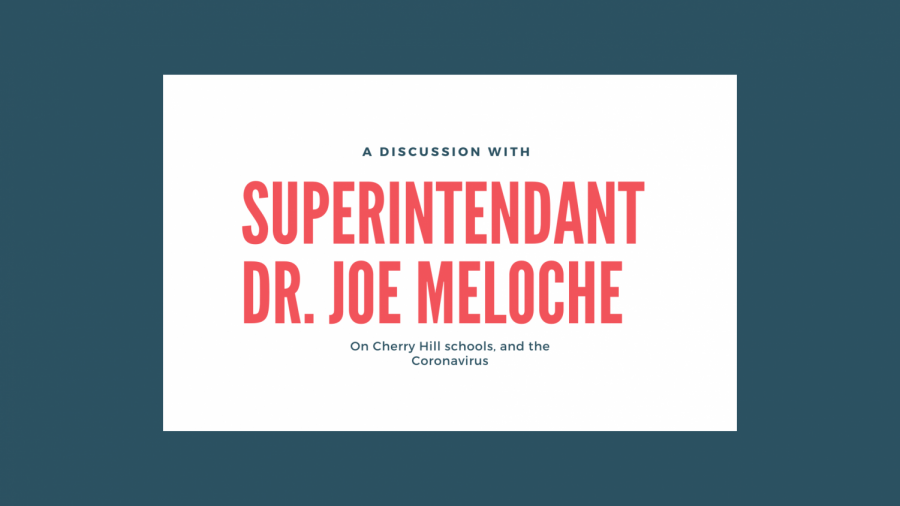 With the uncertainty of school due to the coronavirus, CHPS Superintendant Dr. Joe Meloche clears the air.