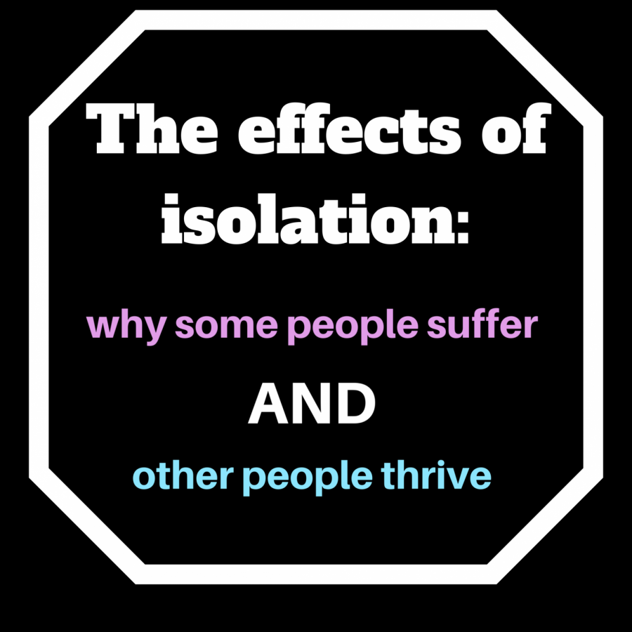 Social isolation during the COVID-19 crisis is bringing some enjoyment, while others misery.