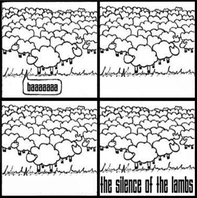 COMIC: Official Silence Of The Lambs