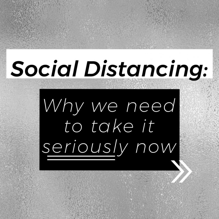 """COLUMN: Why it's time to take this whole """"social distancing"""" thing for real"""