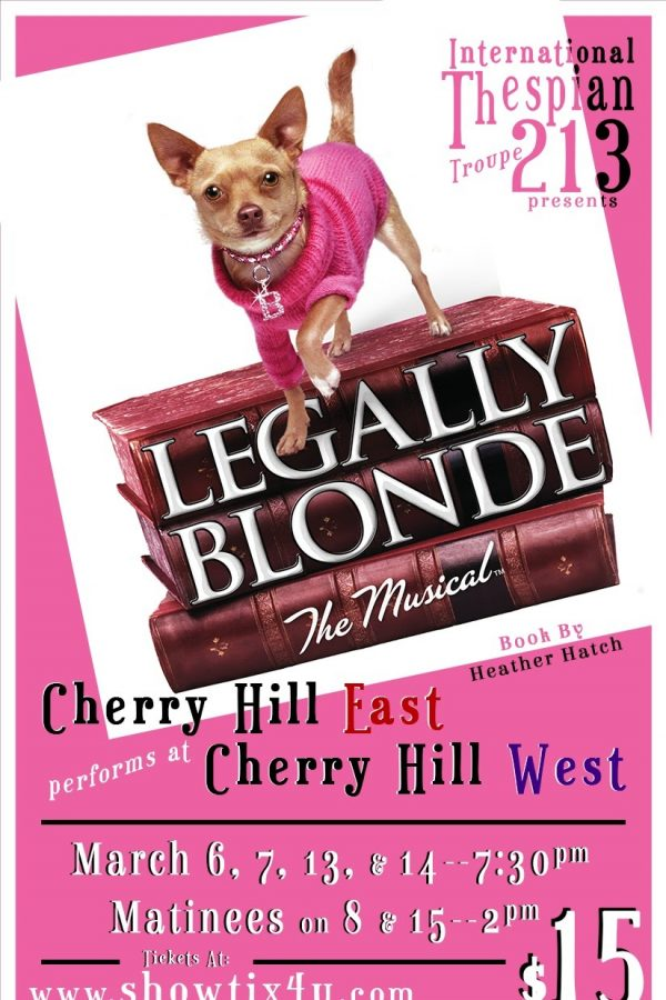 Preview image of the playbill program from Legally Blonde.