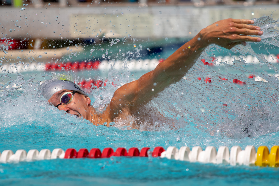 At East, Gilooly was the dominant freestyle swimmer on the Boys' Swim Team.