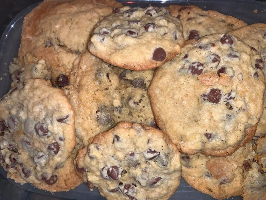 Ali's delicious cookies inspired by the doubletree hotels recipe.