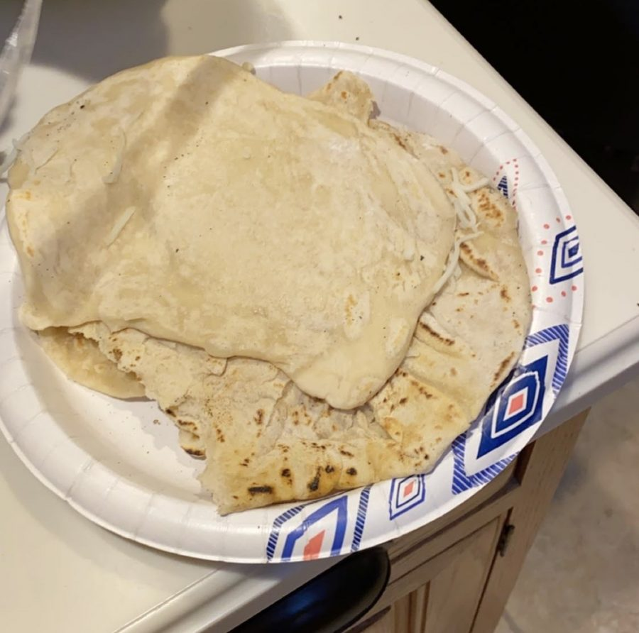 Deliciously fresh tortillas made at home by Devyn Levin ('22)