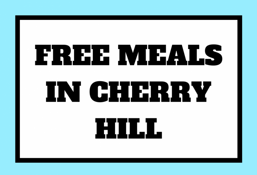 Cherry Hill has recently been offering free lunches to families in the district due to the COVID-19 pandemic.