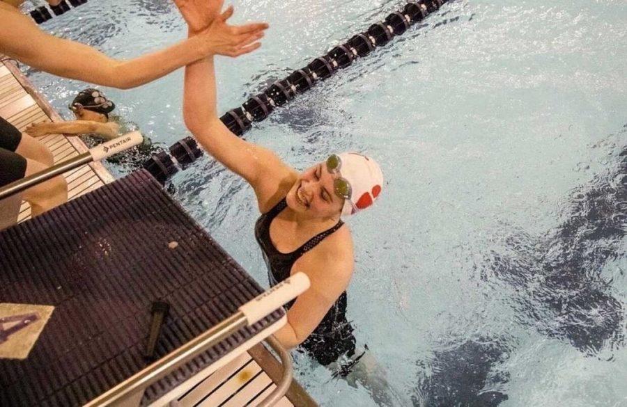 Unfortunately%2C+COVID+put+a+halt+to+Annie+Behm%27s+final+season+as+an+East+swimmer.