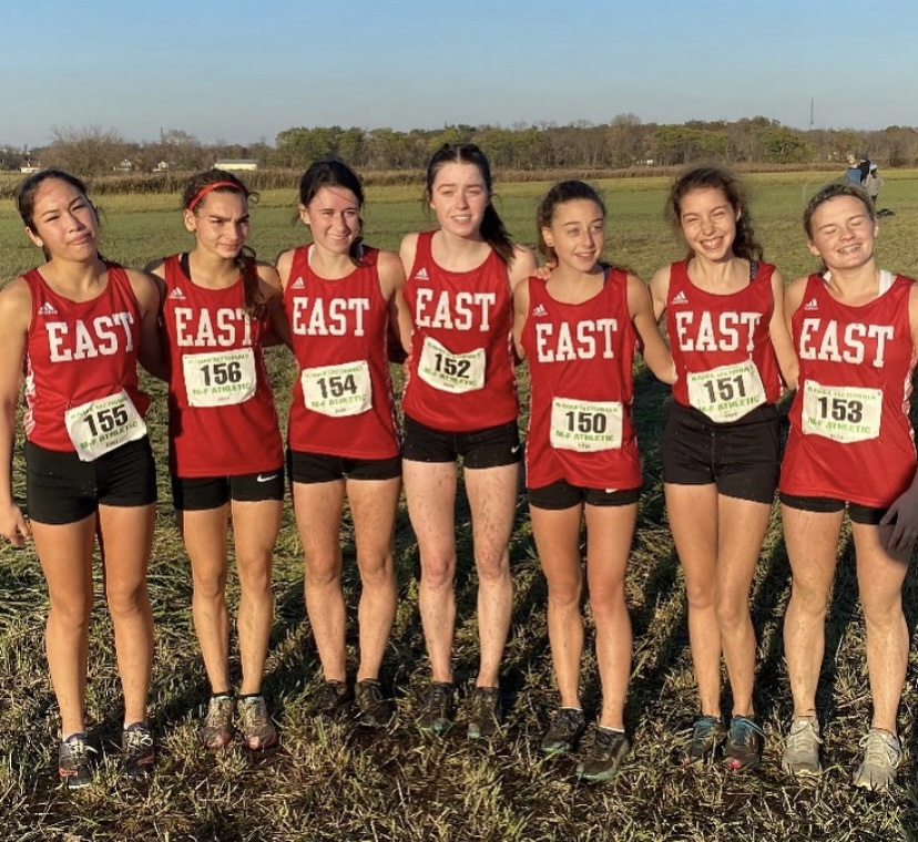 The girls cross country worked very hard and made the best of their season.