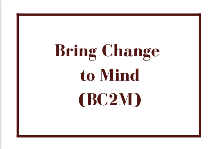 Bring Change to Mind is a brand new club at Cherry Hill East.