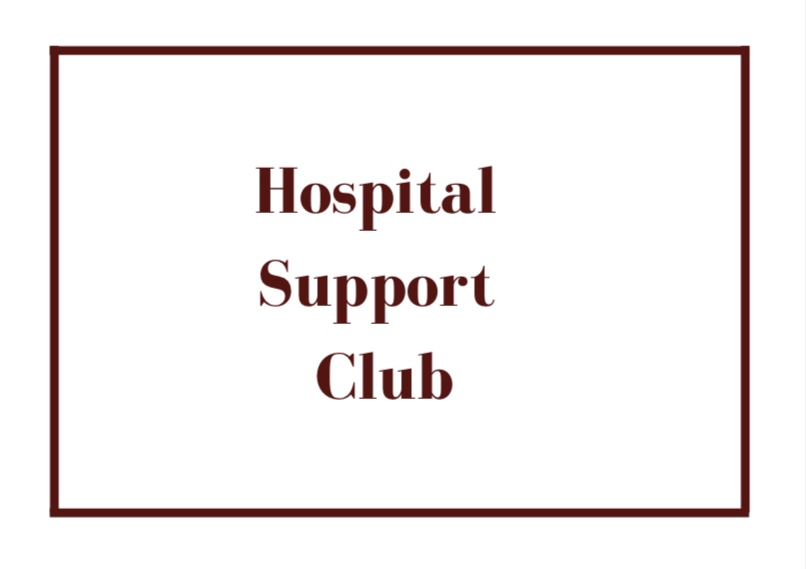 The Hospital Support Club is brand new to Cherry Hill East.