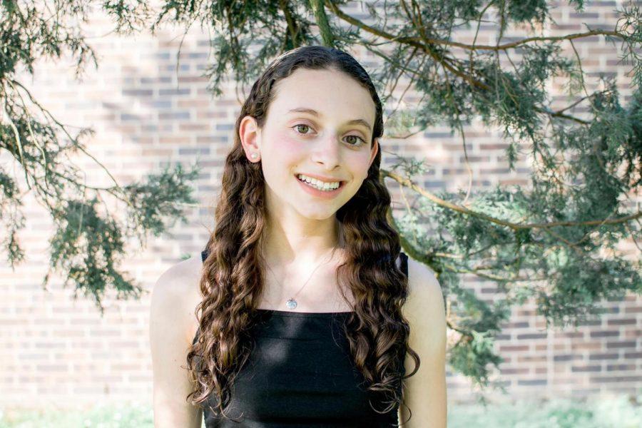 Jillian+Koenig+never+expected+to+start+off+her+high+school+experience+via+online+school.+