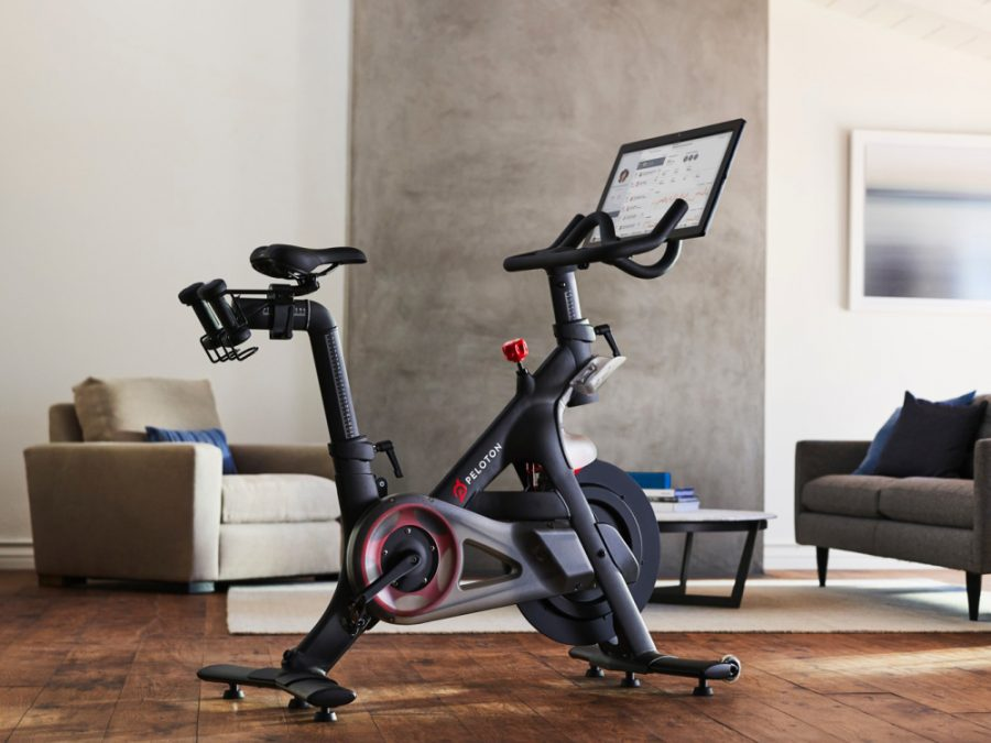 Quarantine+has+led+people+to+Peloton+bikes%2C+which+comes+along+with+fitness+classes+and+instructors+through+the+Peloton+app.