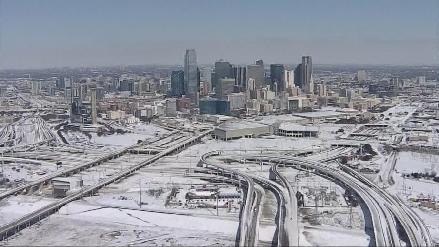 Texas power outages as a result of a blistering winter down have caused  some political discussion.