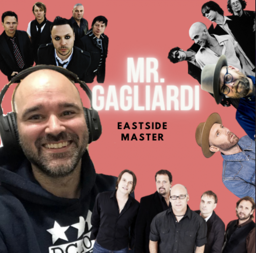 Mr. Greg Gagliardi enjoys many different types of music by all different musicians.