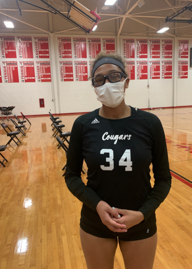 McGregor powers East to volleyball victory.