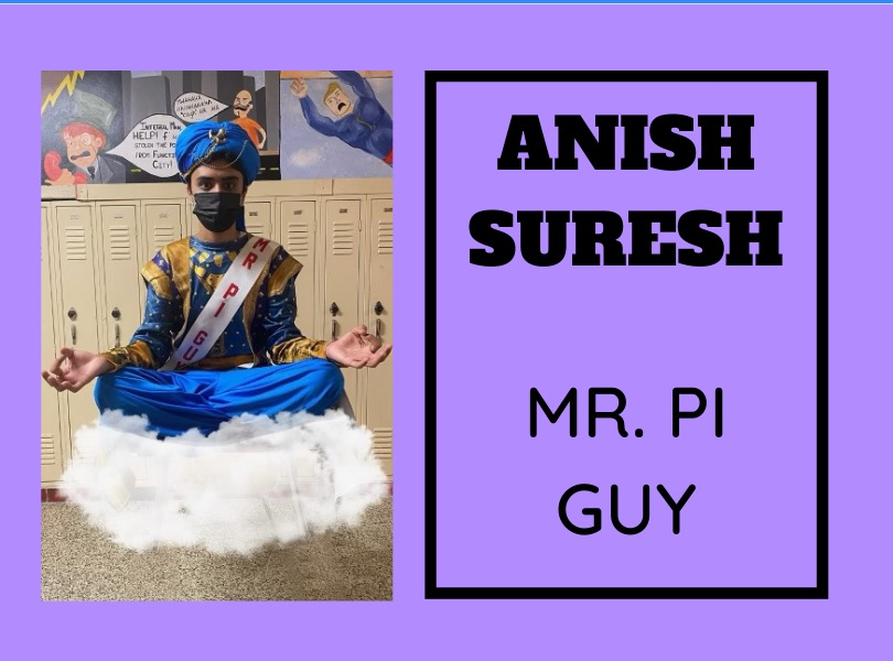 Anish Suresh (21) is ready to amaze the East community with his one of a kind act.