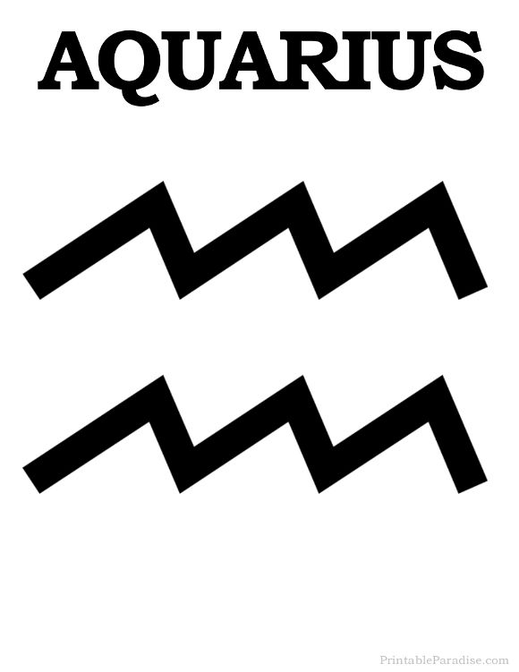 Aquarius is one of the twelve zodiac signs.