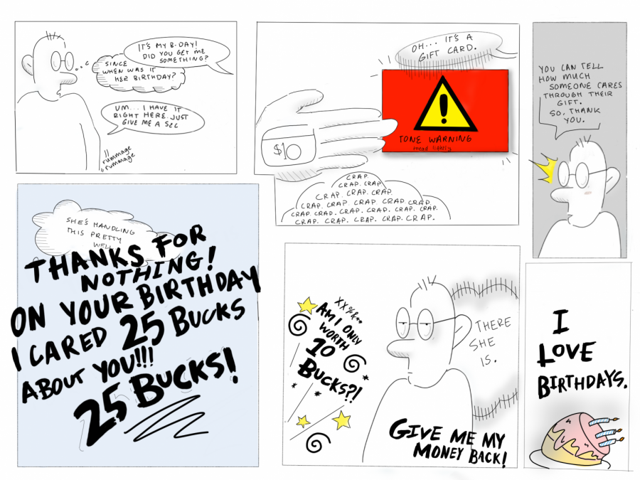 COMIC: Giving gift cards as birthday presents