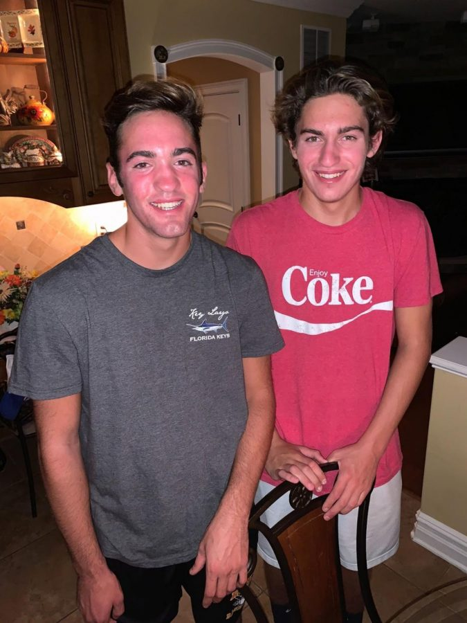 Devon and Jordan  Challenger relay their experiences as twins at East.