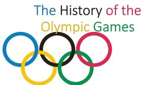 The history of the Olympic Games has made in impact on the world today as we continue the traditions that was started a long time ago.
