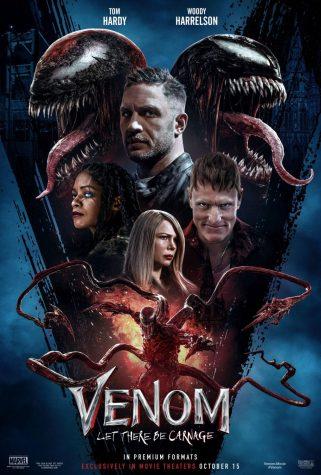 Movie poster for the new Venom movie