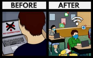The East Technology Department has implemented a lot of changes to improve the WiFi at East.